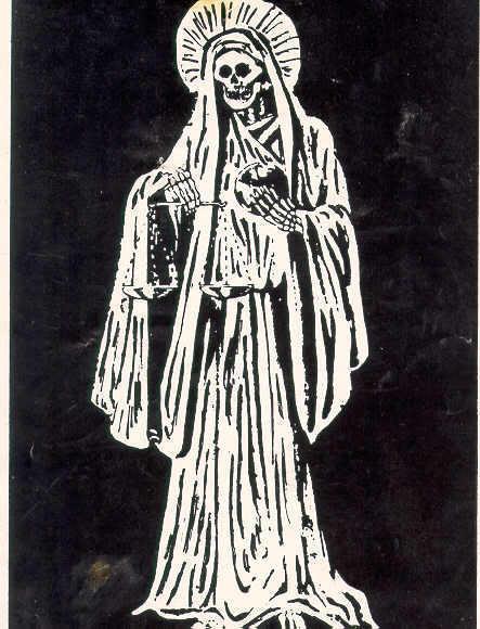 Santa Muerte White