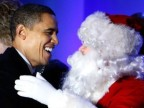 Despite Controversy, President Obama Awards Medal of Freedom to Santa Claus