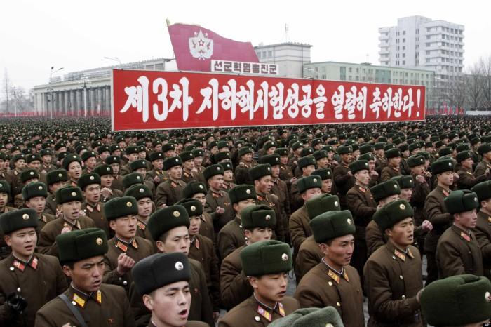 North Korea Nuclear Rally