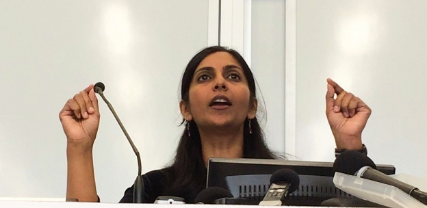 Kshama Sawant at Left Forum (stolen flagrantly from socialistalternative.org)