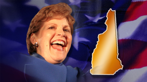 To wipe that maniacal smile off Jeanne Shaheen's face, maybe.